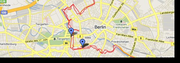 Die Mauer als Leitfaden zur Eroberung Berlins